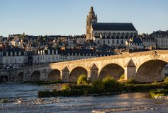 City of Blois royalty free stock images
