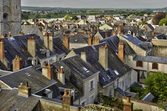 The city of Blois in Loire et Cher Royalty Free Stock Images