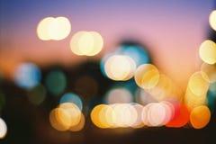 City blur.. Stock Photos