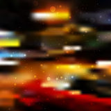 City blur background Royalty Free Stock Photos