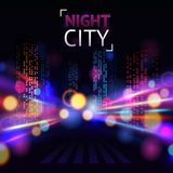 City Blur Background Stock Images