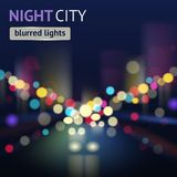 City Blur Background Royalty Free Stock Photography