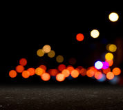 City blurred bokeh Royalty Free Stock Image