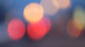 City blurs. Colourful city lights and blurs Royalty Free Stock Image