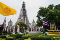 City Bnagkok Thailand Temple Buddhism Buddha Travel Religion.  Royalty Free Stock Photography