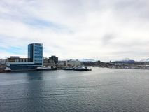 The city of Bodo in Norway. Stock Photography