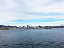 The city of Bodo in Norway. Stock Images