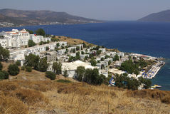 The city of Bodrum, Turkey Royalty Free Stock Images