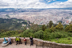 City of Bogota Colombia Royalty Free Stock Photography
