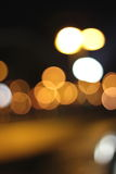 City bokeh background Royalty Free Stock Photos