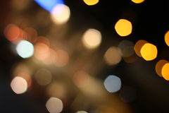 City bokeh background Royalty Free Stock Photography
