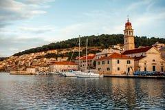 City Bol view on Brac island, Croatia Royalty Free Stock Photo