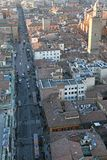 City of Bologna from ASINELLI Tower Italy Stock Photo