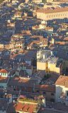 City of Bologna from ASINELLI Tower Italy Royalty Free Stock Photo