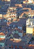 City of Bologna from ASINELLI Tower Italy Stock Photos
