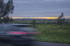 City Bound Traffic. Royalty Free Stock Photography
