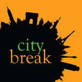 City break color  Stock Photography