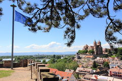 The city of Breisach in Germany Stock Photography