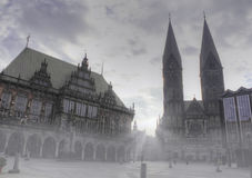 The city of Bremen, Germany Royalty Free Stock Photo