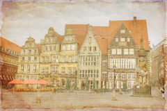 The city of Bremen, Germany royalty free illustration