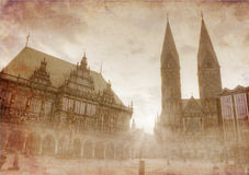 The city of Bremen, Germany Stock Photography