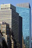 City of Brick and Glass. Brick and glass buildings in New York City Stock Photography