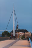The City bridge in Odense, Denmark Royalty Free Stock Photography