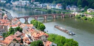City and the bridge Stock Photography