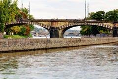 City bridge view Stock Image