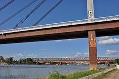 City bridges Stock Image