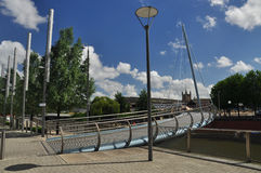 City of Bristol, contemporary urban development. Stock Image