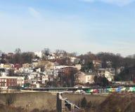 Philadelphia Pennsylvania. City of brotherly love Stock Images