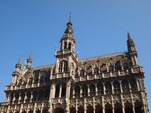 City of Brussels Town Hall royalty free stock photography