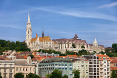 City of Budapest Cityscape Skyline in Hungary Stock Image