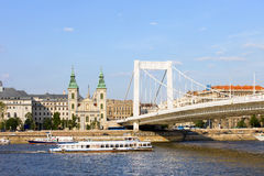 City of Budapest in Hungary Royalty Free Stock Photography