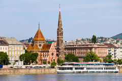 City of Budapest in Hungary Stock Photography