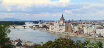 City of Budapest Royalty Free Stock Photos