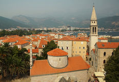 The city of Budva Royalty Free Stock Photos