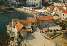 The city of Budva Royalty Free Stock Photo