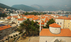 The city of Budva Royalty Free Stock Images