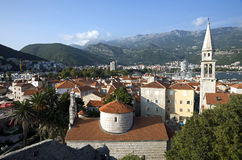 City of Budva Royalty Free Stock Photos