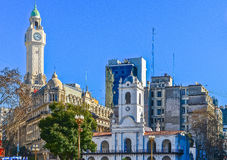 City of Buenos Aires, Argentina Royalty Free Stock Photography