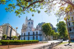 City of Buenos Aires Royalty Free Stock Photography