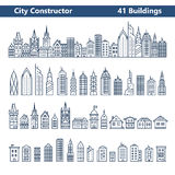 City builder Stock Images