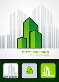 City building background Stock Photography