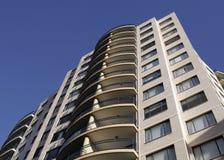 City Building Facade. Tall Urban City Building Facade In Sydney, Australia Royalty Free Stock Photography