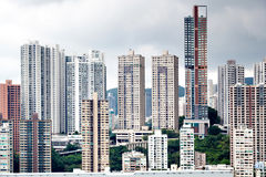 City building in Hong Kong Stock Images