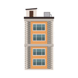 City building icon Stock Photography