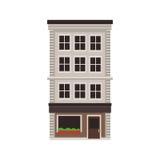 City building icon Stock Image