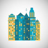 City and Building icon design , vector illustration Stock Photos